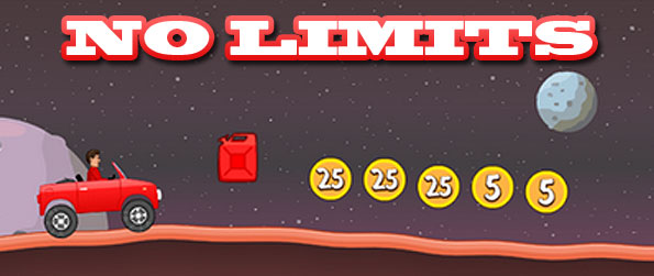 No Limits - Enjoy a simple yet very challenging, pun-themed, and fun-filled Facebook based physics game with No Limits.