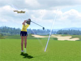 Taking the shot in Winning Putt